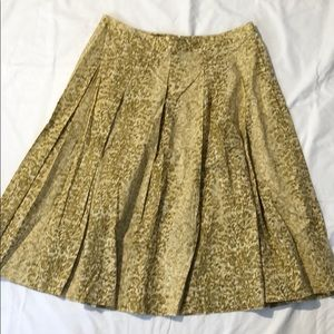 Talbots A Line Midi Skirt Size 10